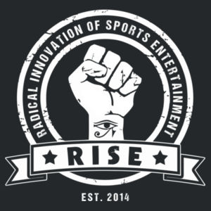 RISE Logo shirt - White Logo Design