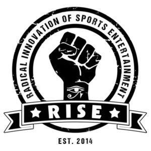 RISE Logo shirt - Black Logo Design